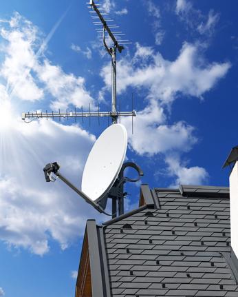 Instalacion de antenas de television